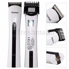 KEMEI Men Rechargeable Hair Shaver Clipper Grooming Electric Razor Beard Trimmer