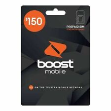 Boost Mobile $150 Prepaid SIM Starter Kit Boost Long life Plan 365 days 80Gb