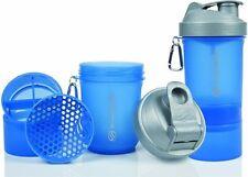 SmartShake Mezclador de proteínas botella Cubilete 600ml Azul Edición