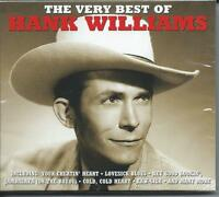 Hank Williams - The Very Best Of / Greatest Hits 2CD NEW/SEALED