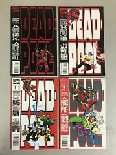 Lot of 4 Deadpool: The Circle Chase Complete Set #1-4 Marvel Comics 1993