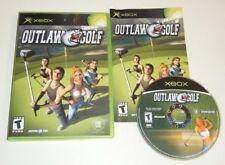 Outlaw Golf COMPLETE GAME for your original XBOX system VG