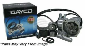 Dayco Timing belt kit inc waterpump for Holden Barina 12/2005 - 10/2011 1.6L 4 c