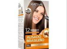 Kativa Brazilian Keratin Argan Oil Treatment Hair Straightening KIT NEW BOX!!!