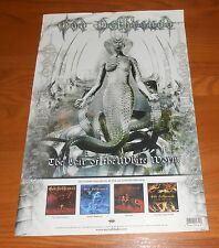 God Dethroned The Lair of the White Worm Poster 2005 Promo 18x12
