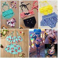 Toddler Kids Baby Girls Swimsuit Swimwear Bathing Suit Tankini Bikini Beachwear