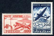 FEZZAN 1948 Yvert PA 4-5 * TADELLOS SATZ 17€(F3621