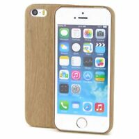 Apple iPhone 8 TPU Handy Hülle Holz Optik Schutz Case Bambus Cover Etuis Wood