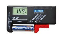 BT-168D Digital Battery Tester Checker for 9V 1.5V And AA AAA Cell New Hot