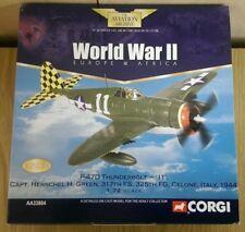 """Corgi AA33804 P-47D Thunderbolt """"11"""" Capt. Herschell H Green Ltd Ed 0001 of 2900"""