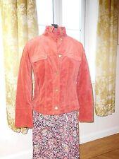 PRINCIPLES  size 12 Velvety- boho  Style (TERRACOTTA ORANGE)warm fitted Jacket