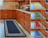 Non-Slip Kitchen Floor Machine Washable Rubber Back Rug Hallway Mats Carpet Mat