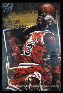 Michael Jordan & Stephen Holland Signed Embellished Giclee  On Canvas. Proof 2/2