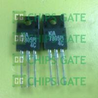 20PCS 3 Terminal Positive Voltage Regulator KEC TO-220F KIA7805PI KIA7805 7805PI