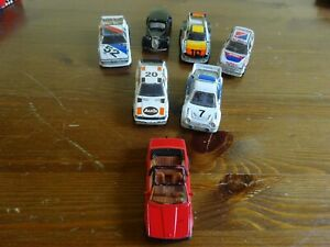 MATCHBOX TOYS 7 UNBOXED MODELS INCLUDING THE AUDI QUATTRO