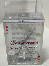 NEW! EARTH THERAPEUTICS CURVACEOUS STAINLESS STEEL EYELASH CURLER SALE