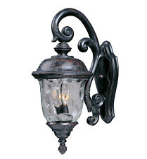 """Maxim 3497 Bronze Carriage House 26"""" 3-Light Wall Sconce"""