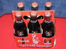 Coca-Cola Collectible Full Bottles (Cleveland Cavs & 1996 Olympic Torch Relays)