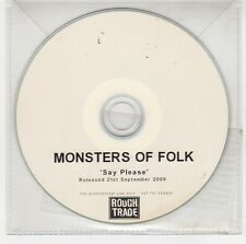 (GG933) Monsters of Folk, Say Please - 2009 DJ CD