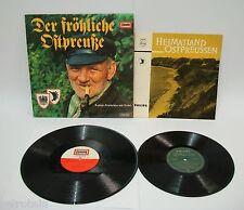 """Ostpreußen - Sammlung mit zwei Alben   Eine 10"""" EP   Alle gut erhalten"""