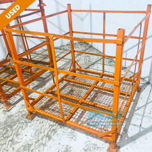 Strong Mesh Pallet Stillage Cage - Used - £20+vat (COLLECTION ONLY)
