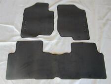 Coverking Custom Fit Front Floor Mats for Select Kia Rondo Models Nylon Carpet Black CFMAX1KI7036