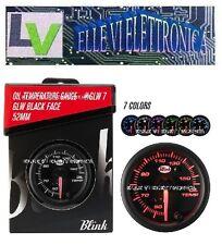 X003-70 BLINK Manometro Temperatura Olio GLW Series Illuminazione 7 Colori