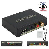 Audio Extractor Splitter HDMI to HDMI + L/R  SPDIF Optical RCA Stereo Converter