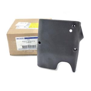 OEM NEW Lower Steering Wheel Column Shroud Cover Trim Panel Black F87Z-3530-FA