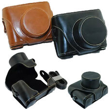 New Top Leather Camera Hard Case Bag Cover For Fujifilm Fuji X10 X20 Finepix