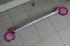 SUBARU IMPREZA GC8 WRX STI FRONT UP STRUT TOWER BAR FOR 2002~2007 brace pink #1