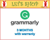 GRAMMAR LY PREMIUM (SHARED ACCOUNT) - 3 MONTHS