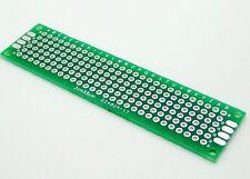 50PCS Double Side Prototype PCB Bread board Tinned Universal 2x8 20mmx80mm FR4