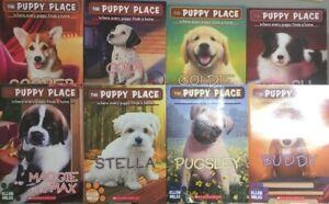 Lot of 8 Puppy Place Books Random Mix  Ellen Miles
