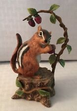 "Lenox ""Summer Delight� Eastern Chipmunk 1993"