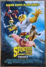 THE SPONGEBOB MOVIE SPONGE OUT OF WATER MOVIE POSTER DS ORIGINAL FINAL 27x40