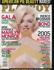 PLAYBOY December 2005 Magazine MARILYN MONROE Cover FACTORY SEALED New MINT