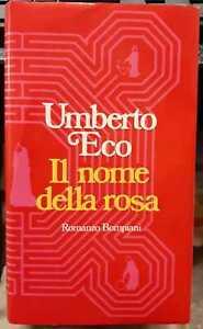 Il nome della rosa -  UMBERTO ECO - Bompiani 1980 - PRIMA EDIZIONE