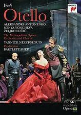 Otello (The Metropolitan Opera) (DVD, 2016, 2-Disc Set) New