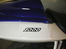 STICKER AUTOCOLLANT 1000 RESERBOIR POLY casque MOTO