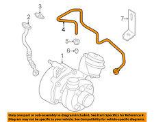 VW VOLKSWAGEN OEM 98-04 Beetle Turbo Turbocharger-Oil Inlet Line 038145771AH