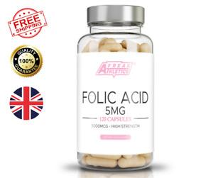 Folic Acid 5mg 120 Capsules