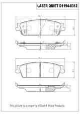 Disc Brake Pad Set-Hybrid Rear Pronto LCD1194