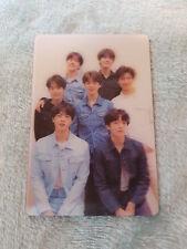 3)BTS Bangtan Boys LOVE YOURSELF Fake Love Group Special PhotoCard K-POP