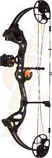 "Fred Bear Archery Cruzer LITE Compound Bow Shadow Black RH Package 12""-27"" Draw"