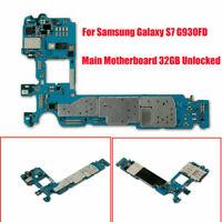 Main Motherboard For Samsung Galaxy S7 G930FD 32GB Unlocked(Dual Sim Card)Kits