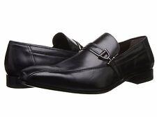 Mezlan Men's 15385 Black Leather Slip On Loafer