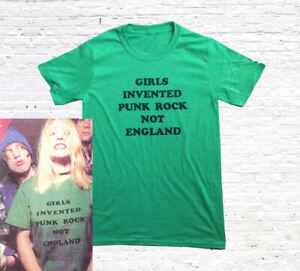Girls Invented Punk Rock Not England T-Shirt (worn by Kim Gordon)