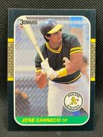 1987 Donruss Jose Canseco #97 - Oakland A's - NM-MT