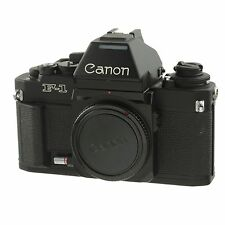 Canon F-1N Film Camera Body with AE Finder FN Near Mint Condition